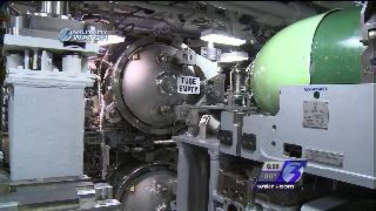 Take a look inside the Navy's newest submarine