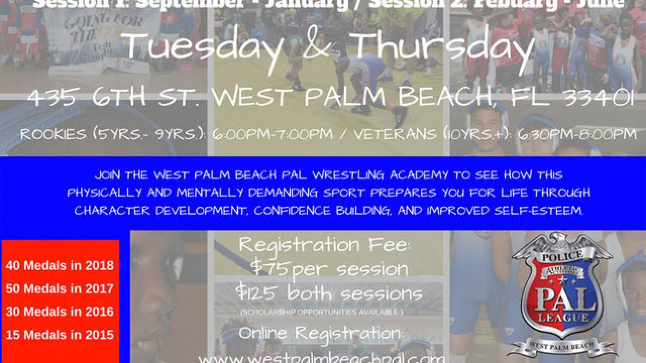 West Palm Beach Police Athletic League kicks off new youth wrestling season