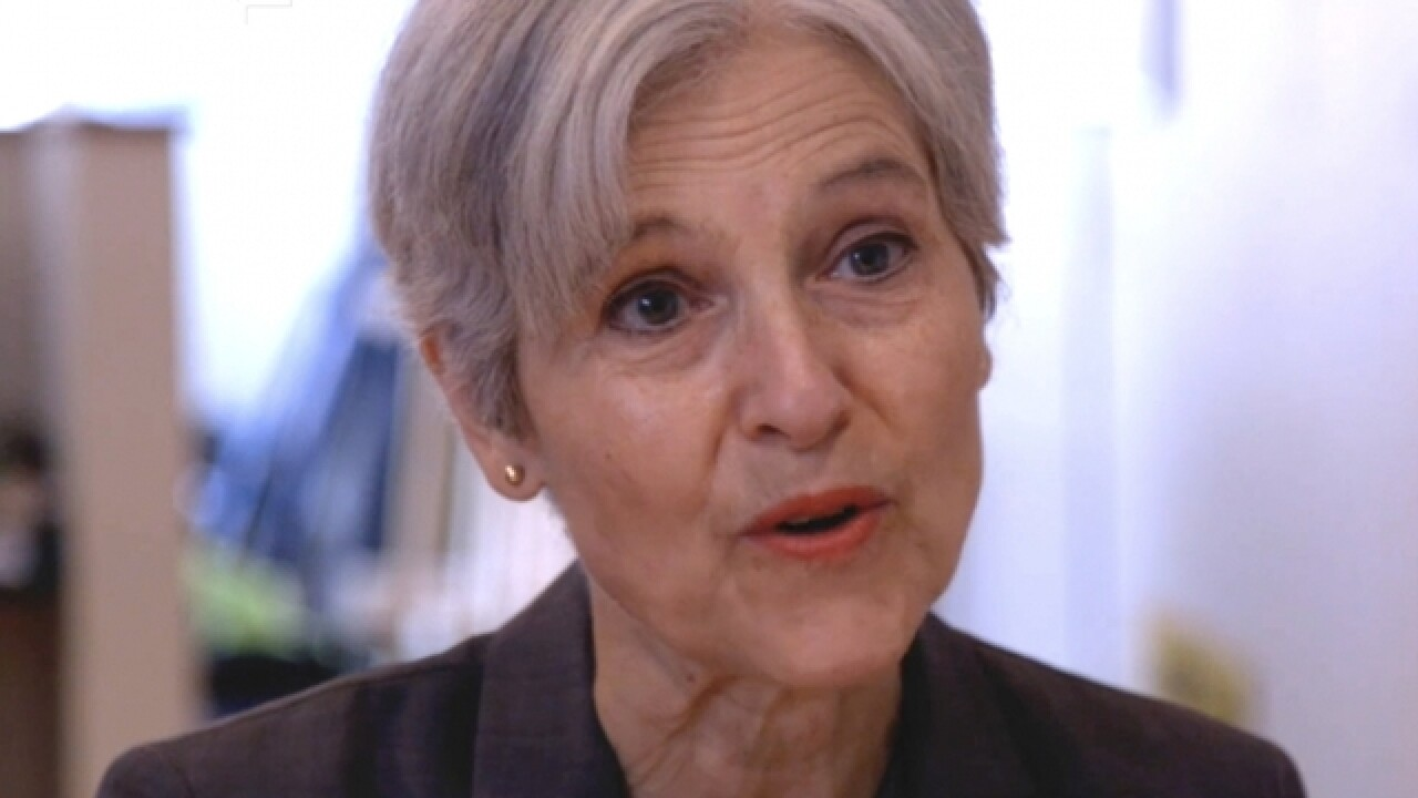 Green Party's Jill Stein charged with trespassing, mischief