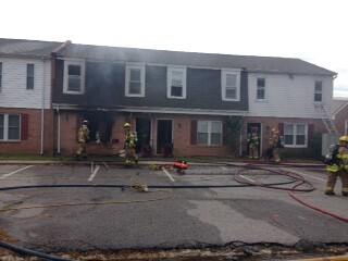 Photos: Fire damages 3 apartments in ColonialHeights