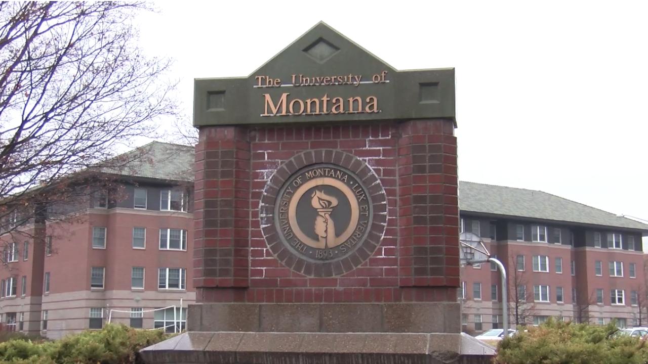 University of Montana Campus Missoula