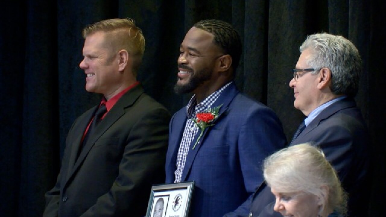 Former UFC champion inducted into Niagara Wheatfield High School Hall of Fame