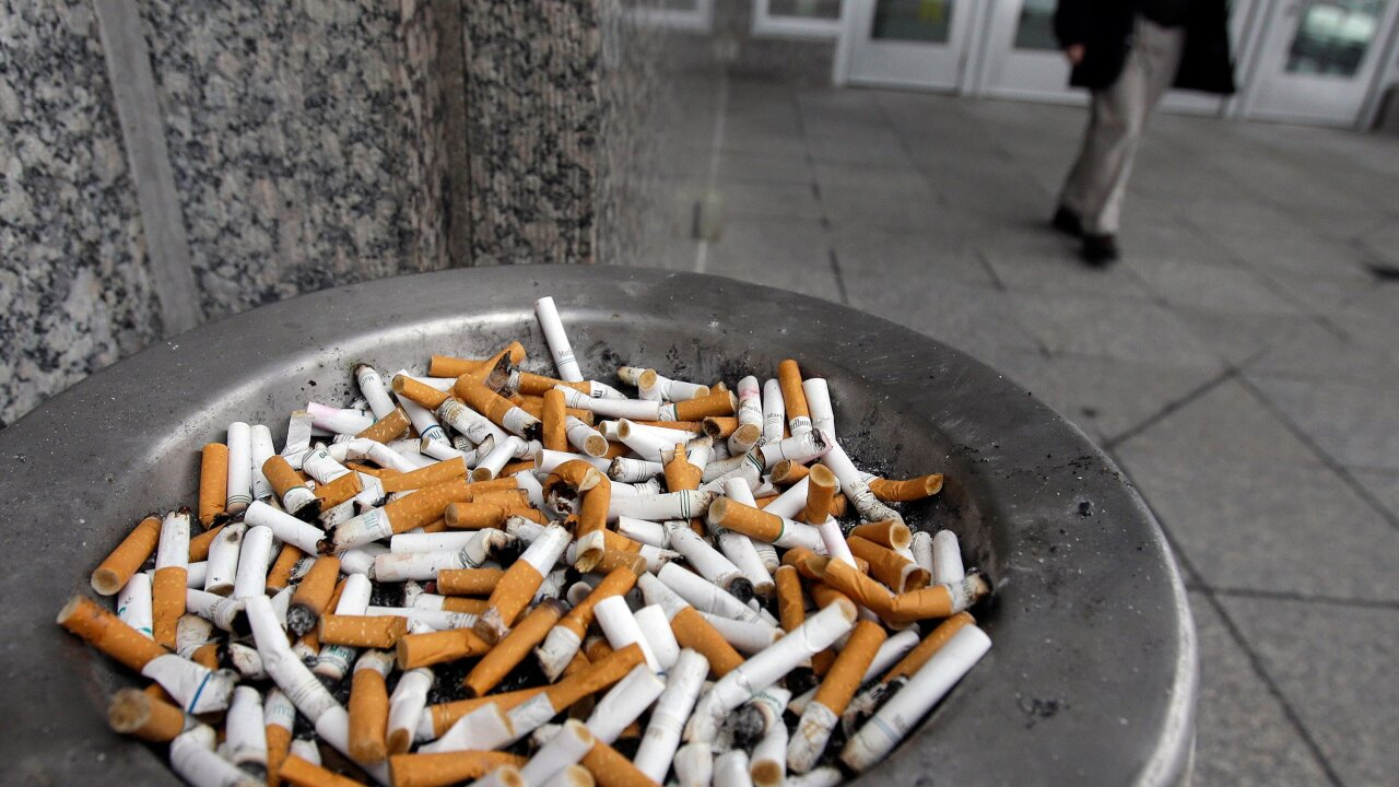 Cigarette filters are the No.1 plastic pollutant … and don't prevent cancer