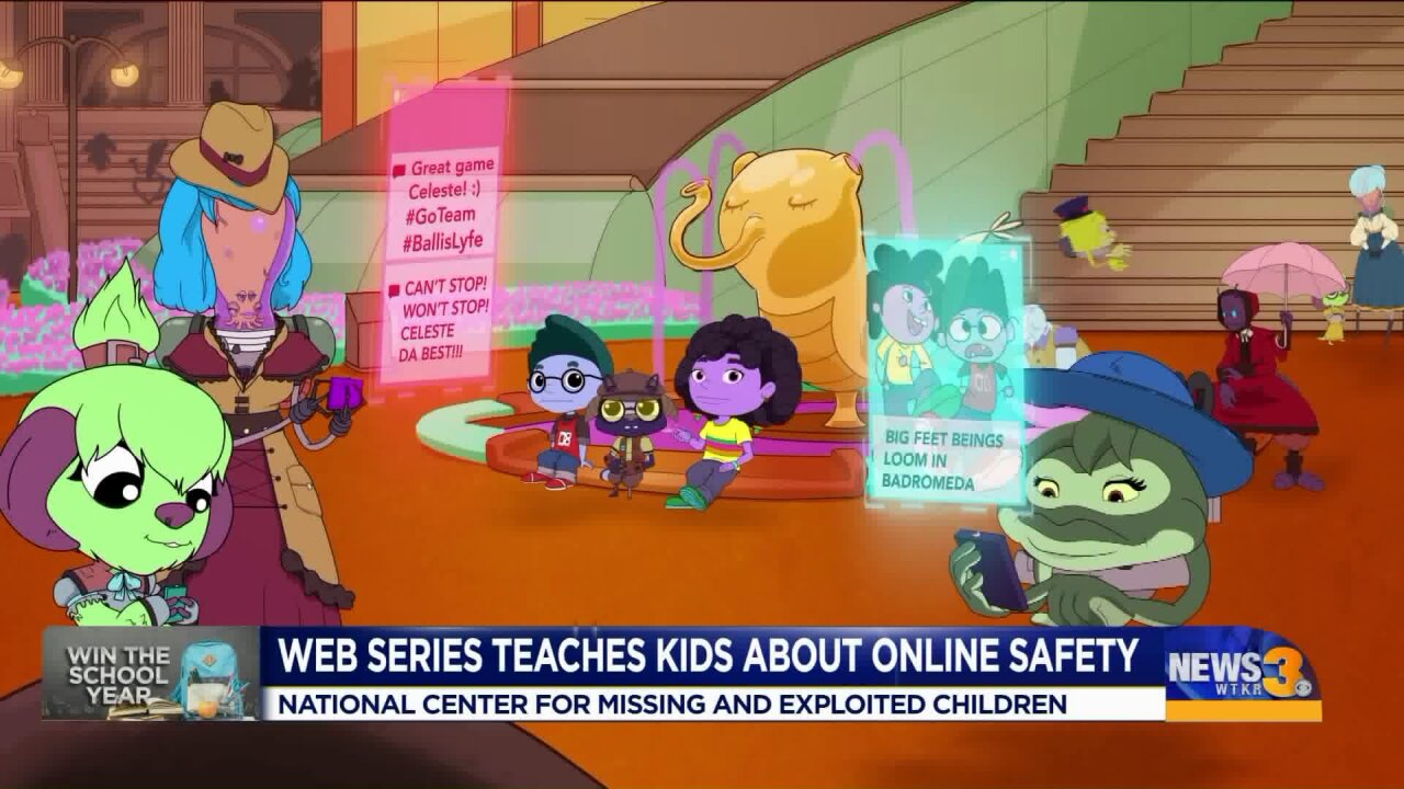 New animated web series teaches kids about online safety