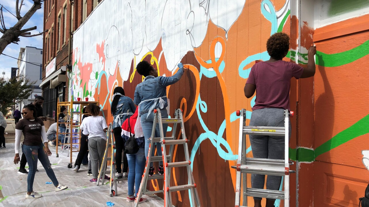 Richmond women's experiences are inspiration for new Southside mural