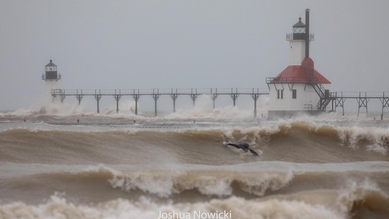 Surfers on Lake Michigan - Courtesy JOSHUA NOWICKI PHOTOGRAPHY 5.jpg