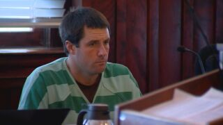 Patrick Frazee looks on in court