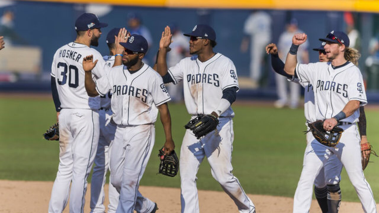 Padres beat Dodgers 3-0 to win series in Mexico