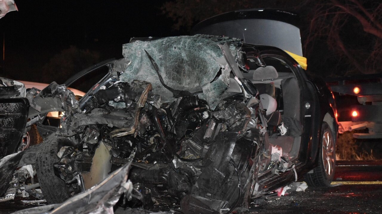 According to the Arizona Department of Public Safety, the crash happened at 5:39 p.m. Thursday. Mark Bettencourt, 31, drove a Honda Accord eastbound on State Route 93 when the car drifted across the center line, hitting a GMC pickup head-on.  Bettencourt was pronounced dead at the scene.