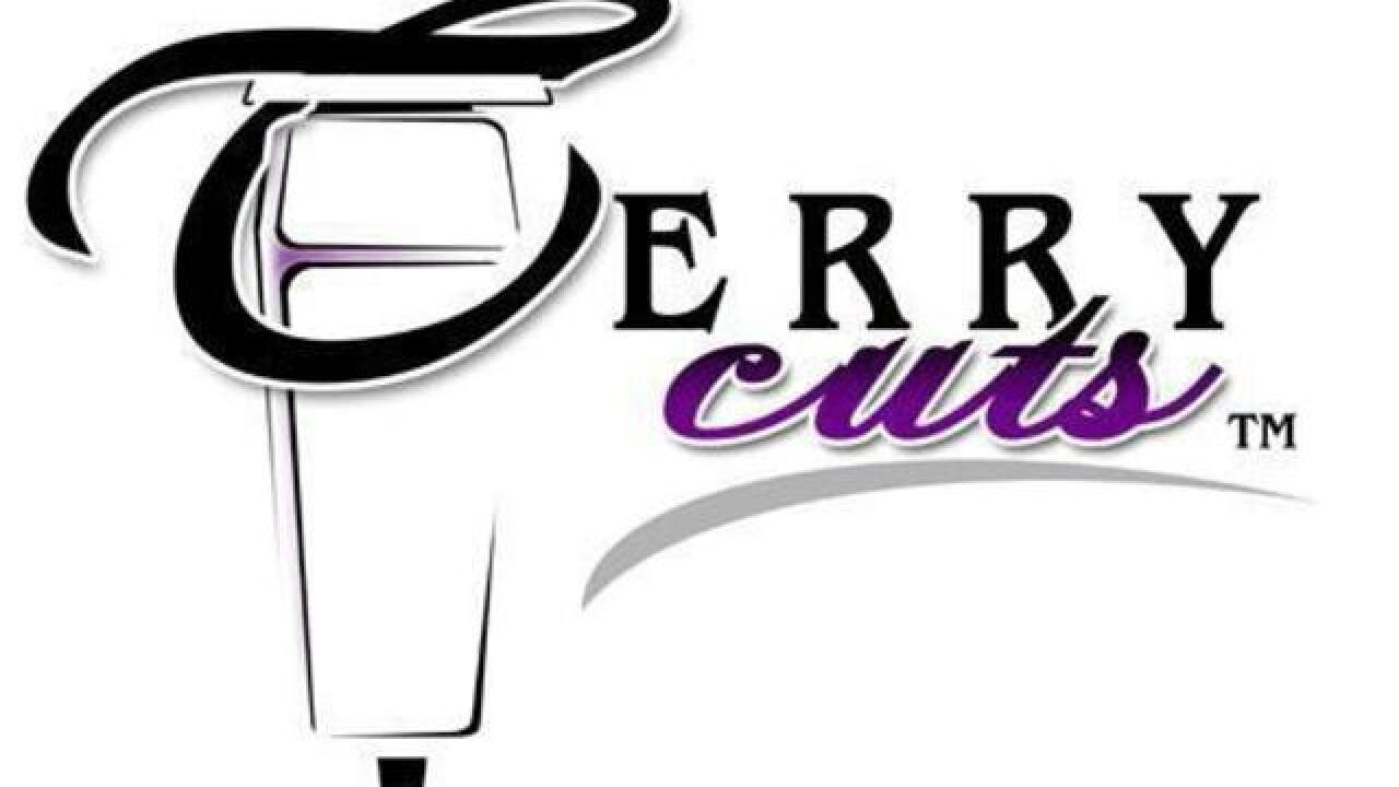 Terry Cuts gives free hair cuts every Monday for the month of August