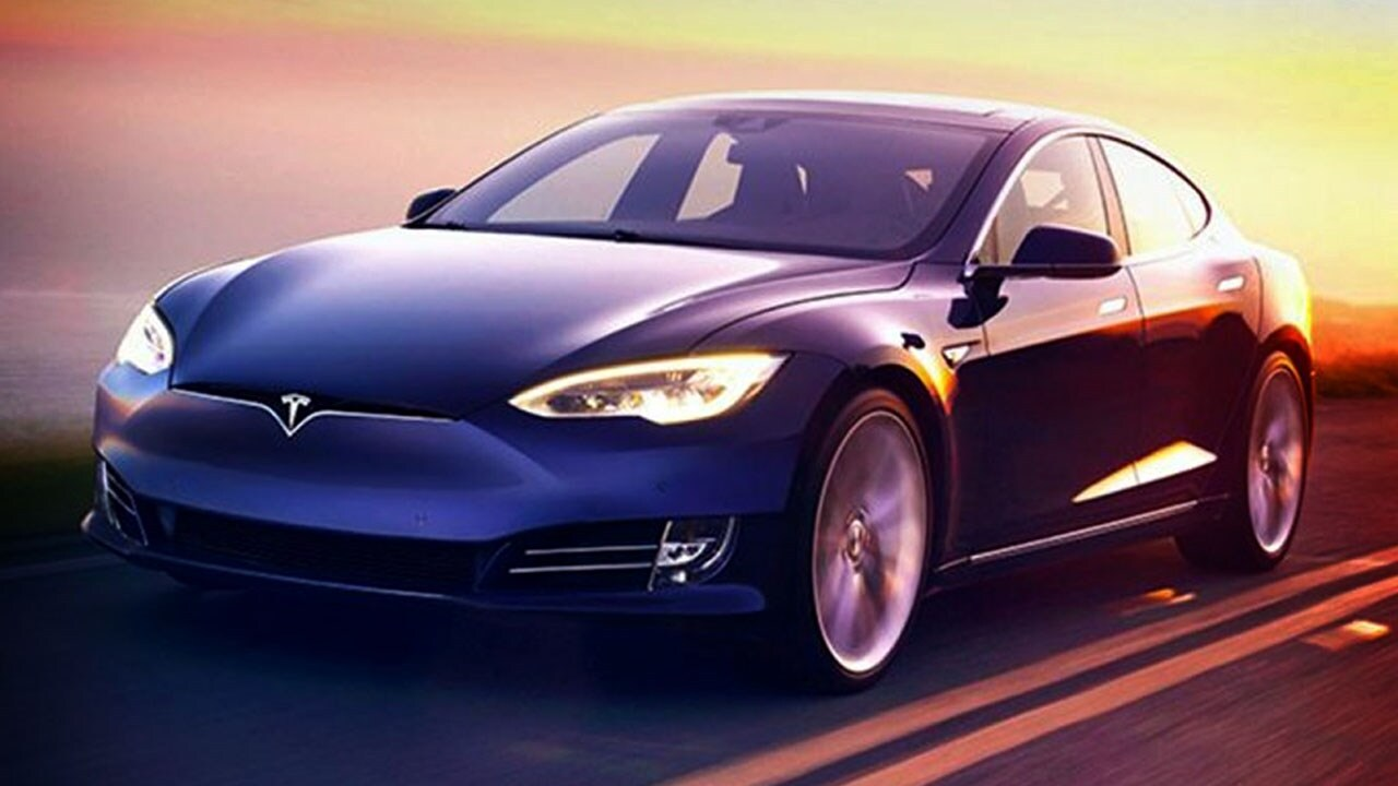 Caught on Camera: Tesla Model S makes 100-foot jump; driver charged