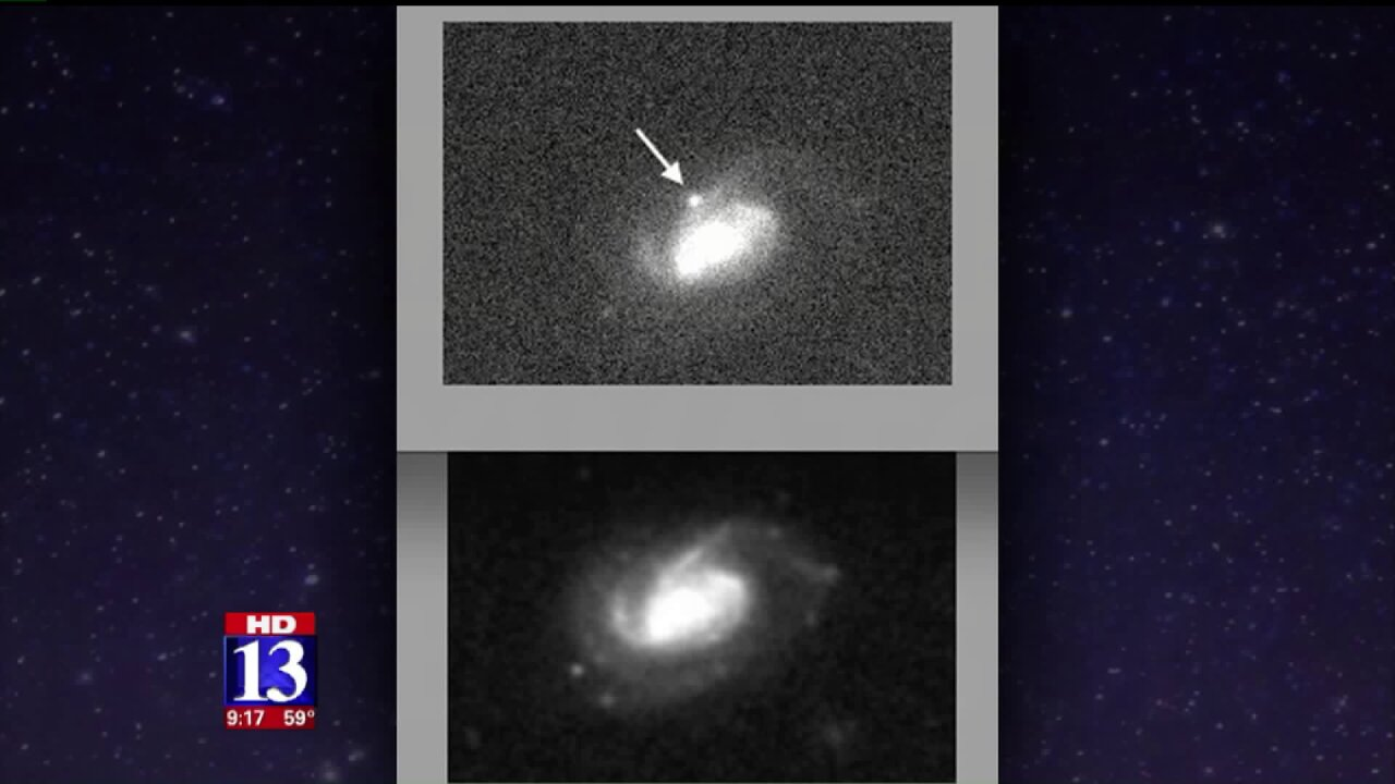1,051 nights: Utah astronomer's patience pays off with discovery ofsupernova