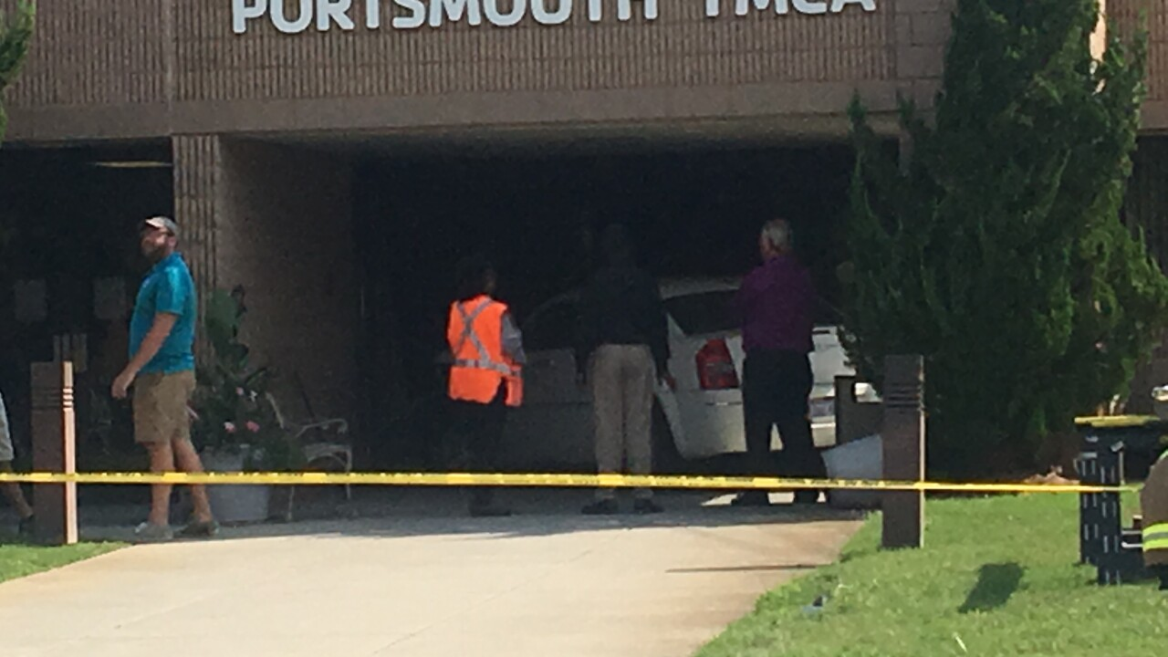 Woman drives into Portsmouth YMCA, injuring 7 people
