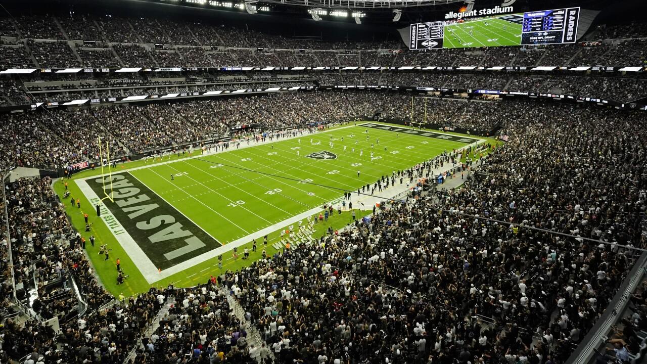 Ravens Raiders Football Allegiant Stadium 2021 NFL regular season opener