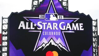 all star game logo at coors field