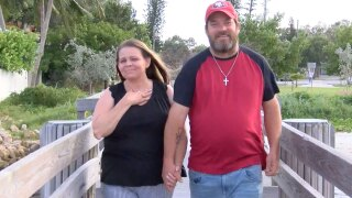 Margaret Denton and Jerry Maxwell, couple weds after recovering from homelessness in West Palm Beach