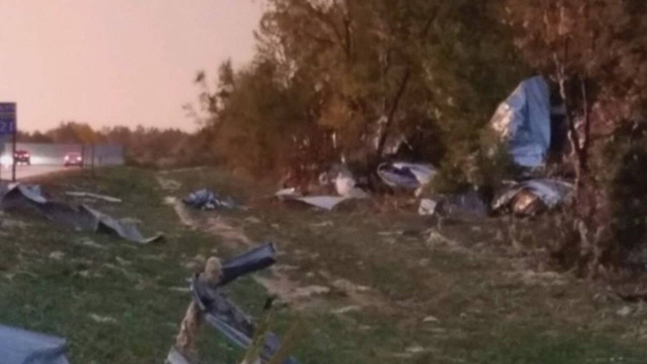 Communities clean up after severe storms sweep MN