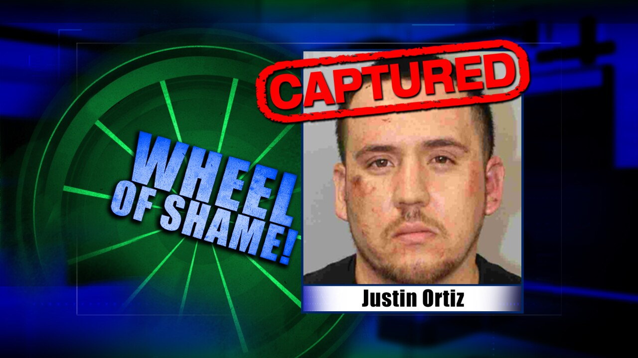Wheel Of Shame Fugitive Arrested: Justin Ortiz