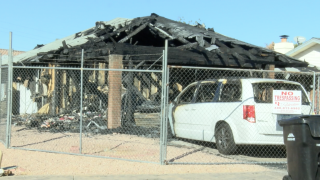 Mesa family loses everything in house fire