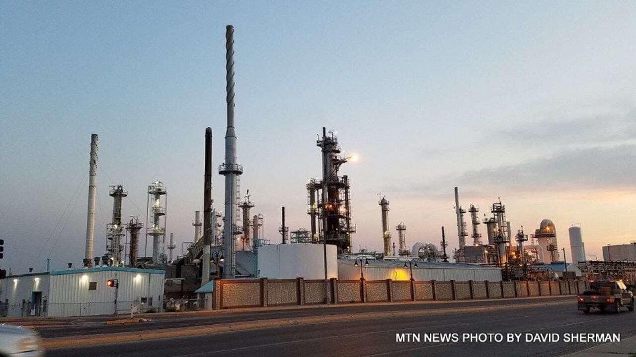 Calumet refinery undergoing maintenance