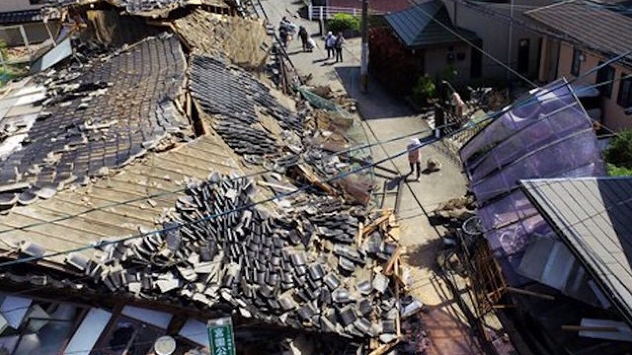 Japan hit by second big earthquake in 24 hours