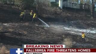 Arsonist arrested for Fallbrea Fire