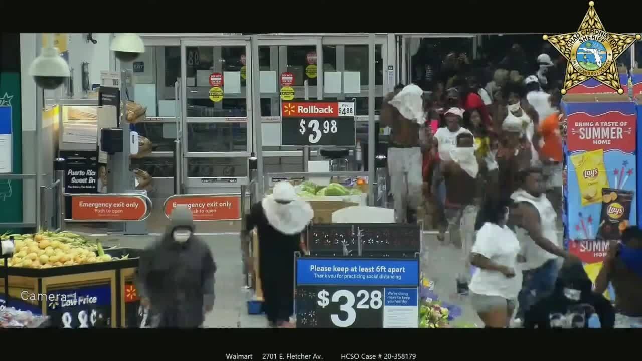 Walmart looted