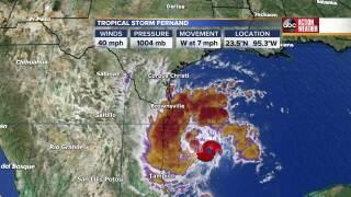 Tropical Storm Fernand