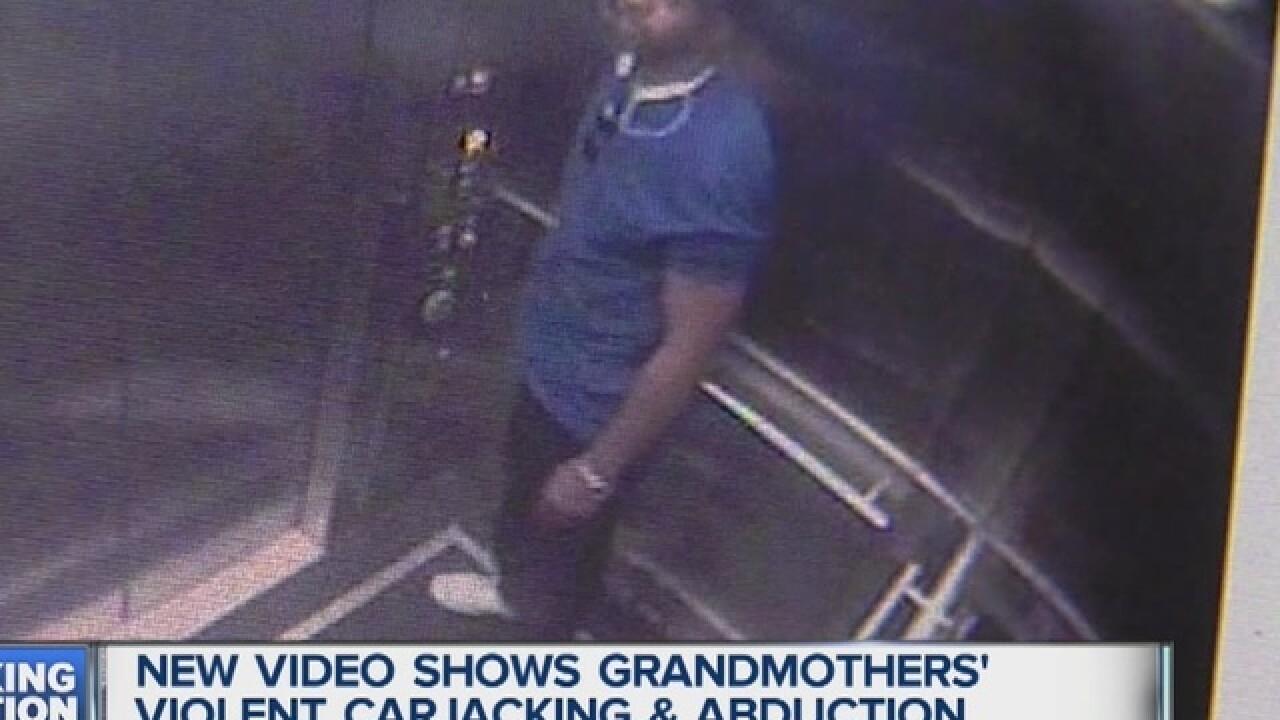 Women kidnapped & carjacked at MotorCity Casino