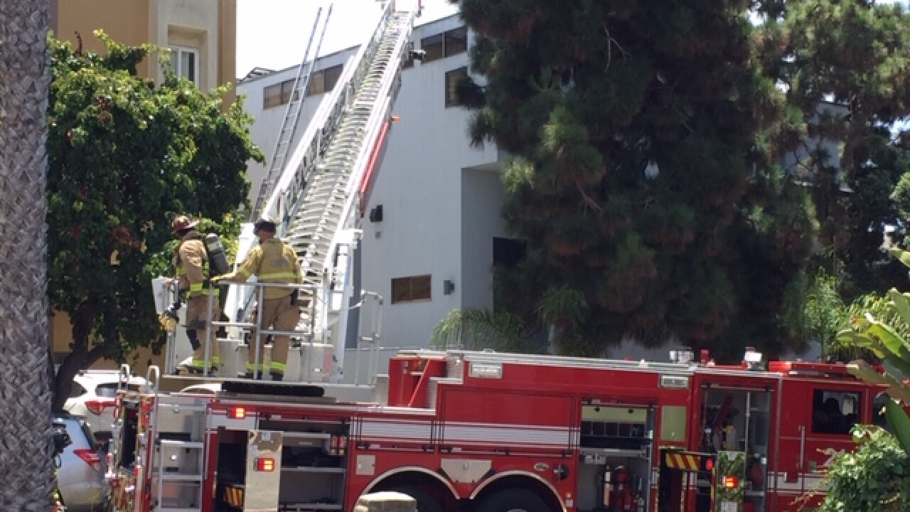 La Jolla Fire July 20, 2020