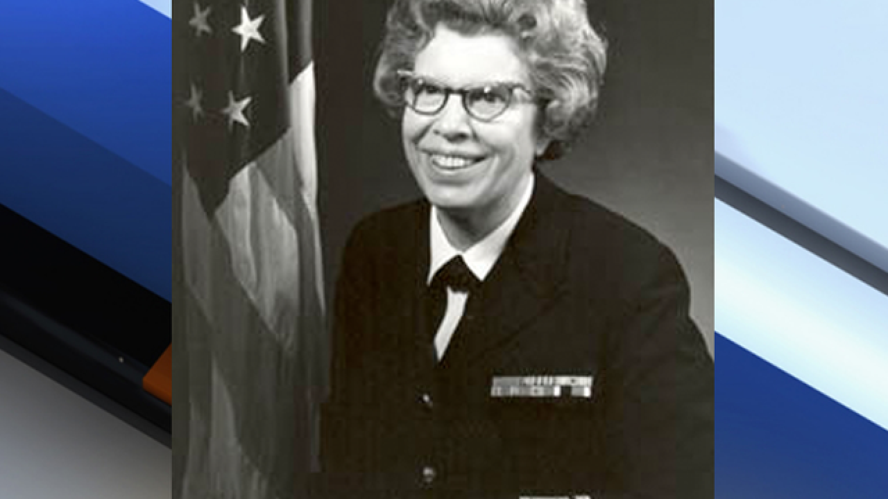 Rear Admiral Alene Duerk: Navy's first female admiral has died
