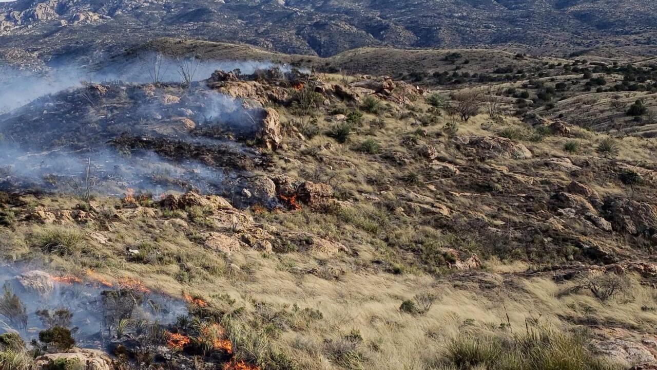 Redington Pass Wildfire