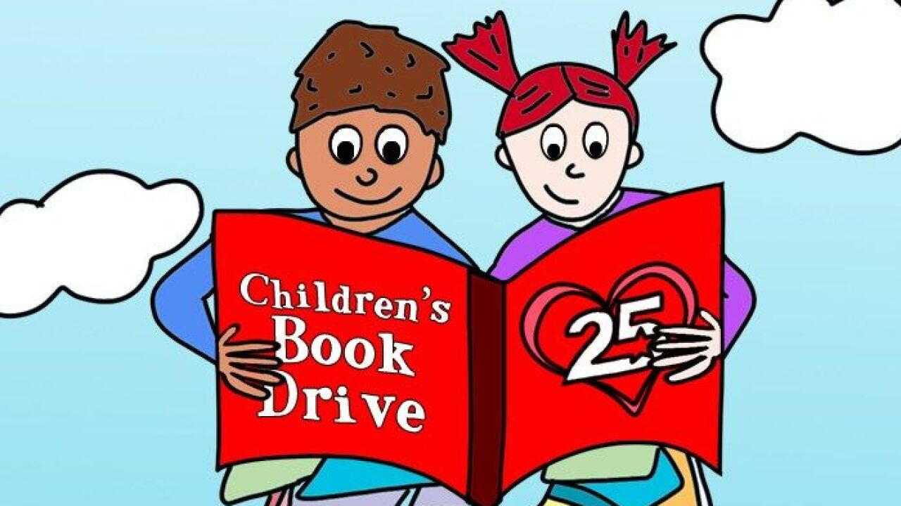 #25Cares: Donate your used books to benefit children in need in Central Texas