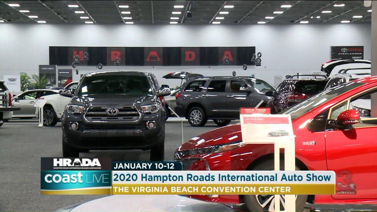 A preview of the Hampton Roads International Auto Show on CoastLive