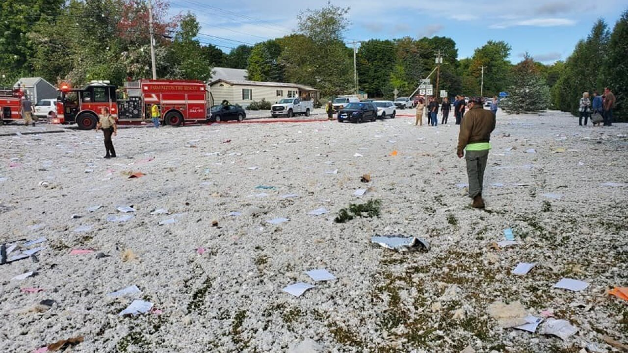 Building explosion in Maine kills firefighter, injures others, sheriff's office says