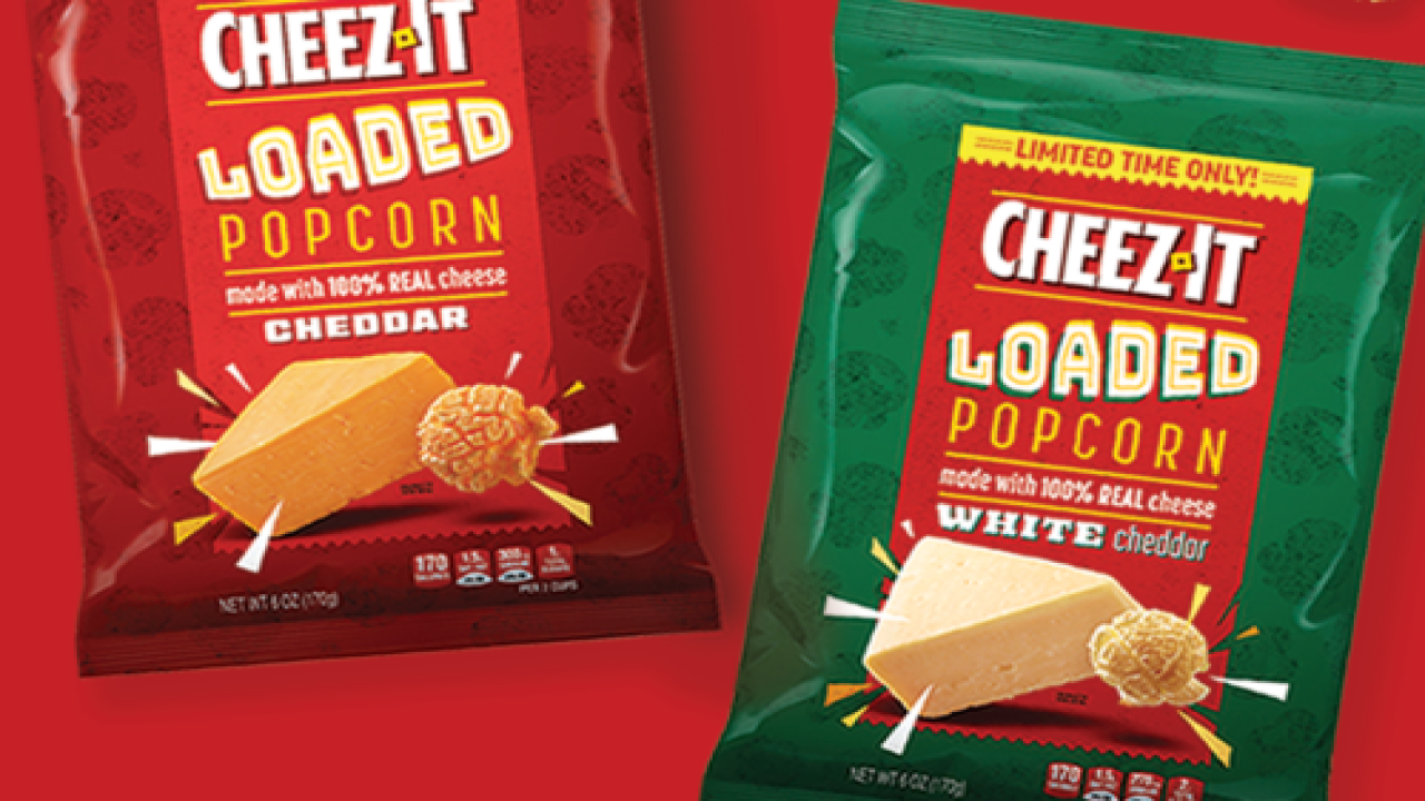 Cheez-It Popcorn Is Coming To Stores For A Limited Time