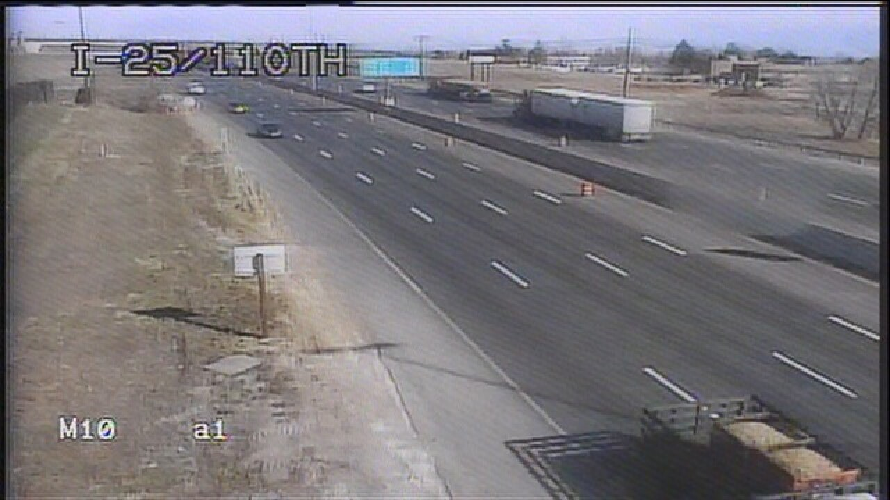 When will the HOV lanes on I-25 up north open?