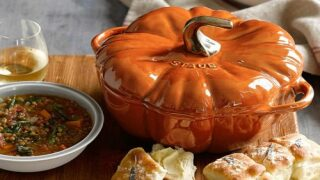 Cook All Of Your Fall Meals In This Cute Pumpkin Pot
