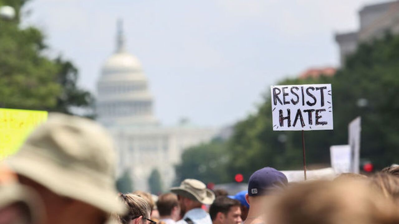 White nationalists dwarfed by crowds of counterprotesters in Washington