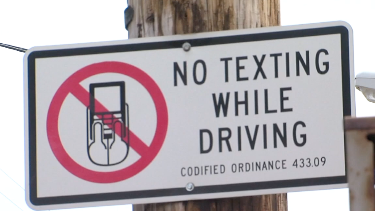 Cuyahoga County leads Ohio in distracted driving crashes since 2019