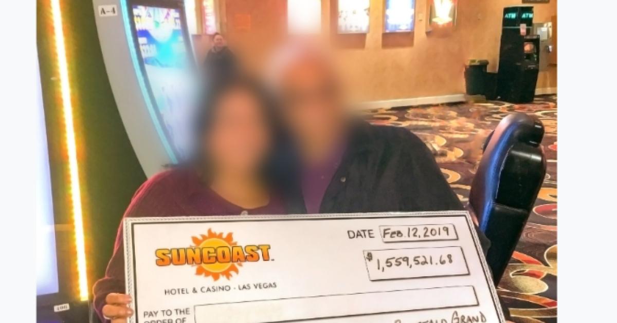 Slot player hits $1.5 million jackpot at Las Vegas casino