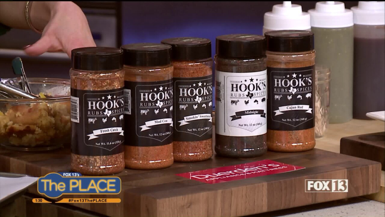 Recipe: Southern Turkey Meatball Bombs by Hook's Rubs and Spices