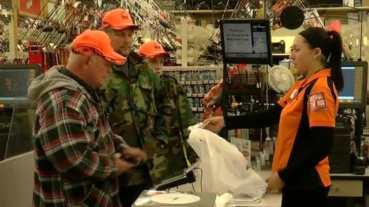 Orange Friday brings out hunters for deer season