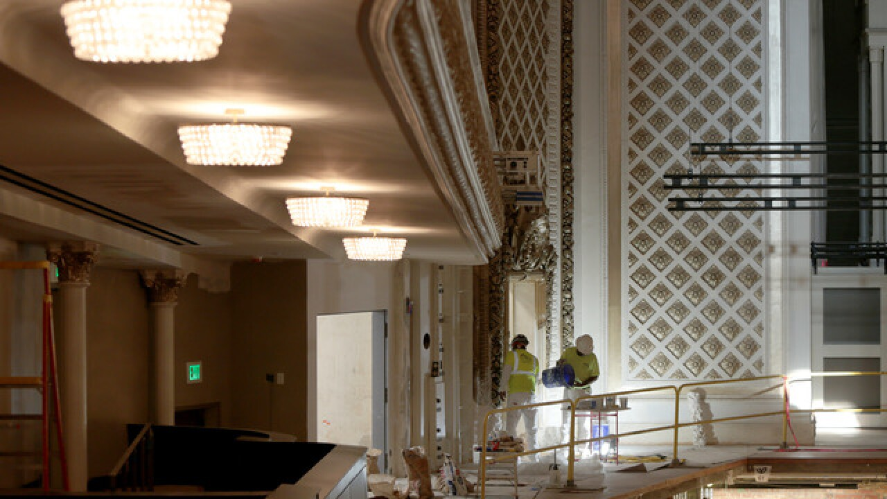 Get a sneak peek at rejuvenated Music Hall