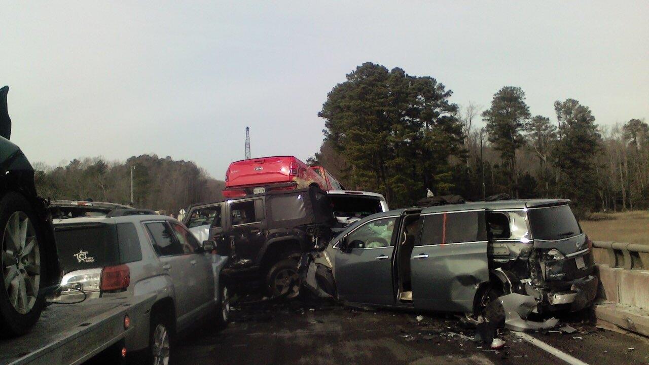 51 injured after 69-car pileup on Virginiainterstate