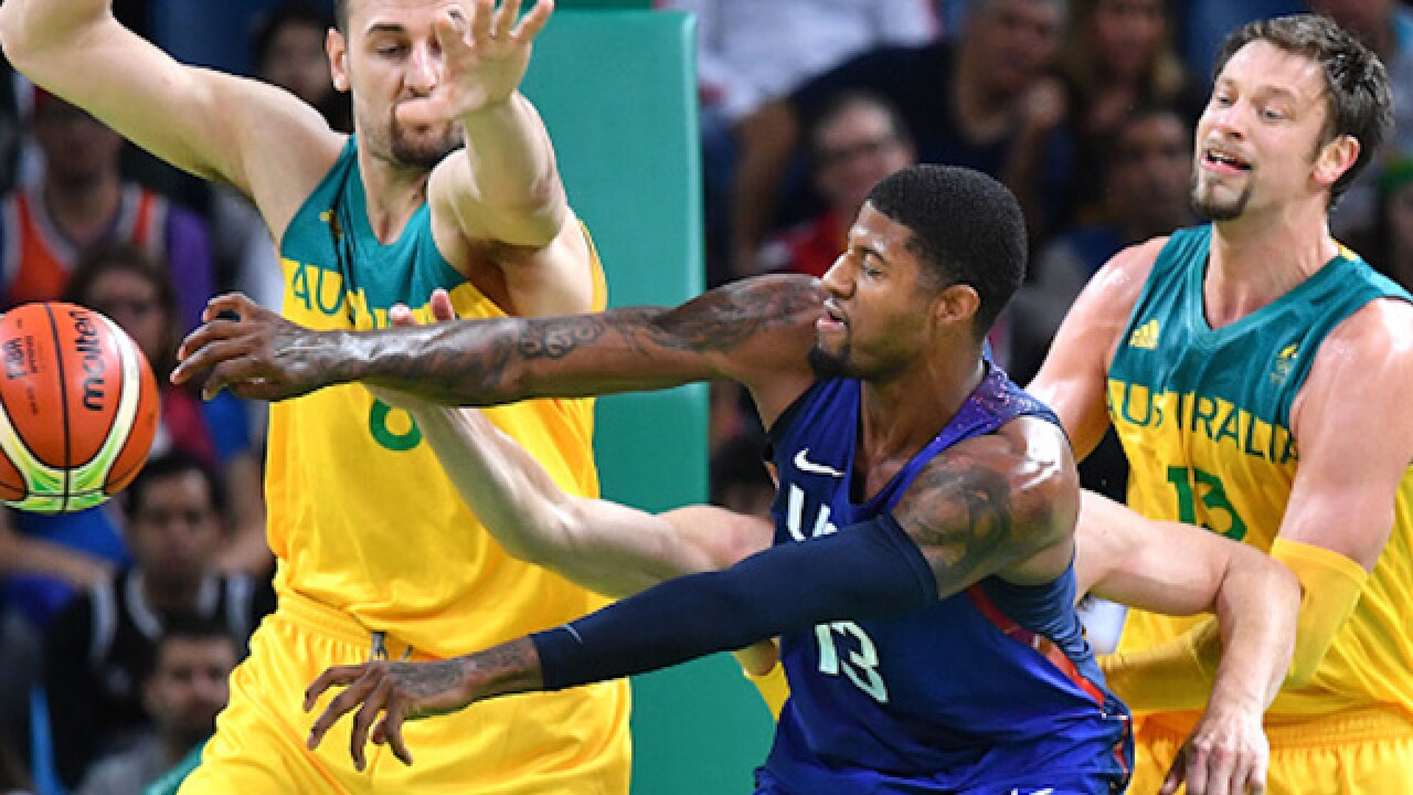 US basketball survives tough challenge by Australians