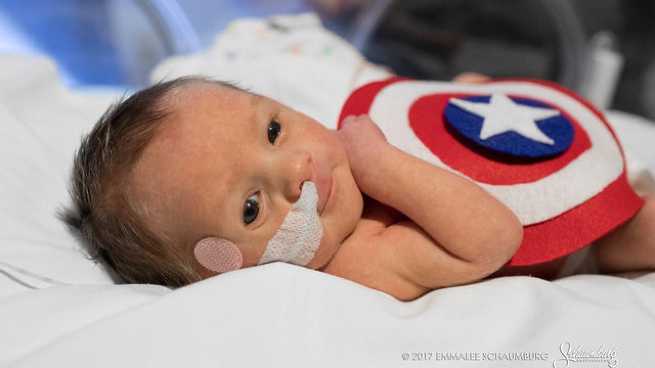 AWW: Hospital dressed NICU babies for Halloween