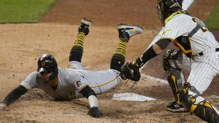 Pirates Padres Baseball austin nola