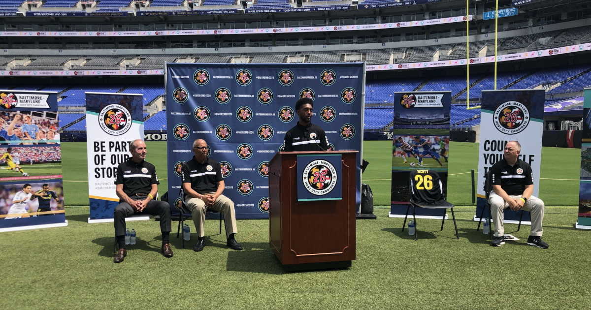 Lt. Governor, Baltimore Mayor main effort to carry 2026 FIFA World Cup to Maryland