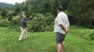 LEX 18 Digital: Straight Line Winds Damage Homes In Menifee County